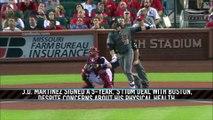 Red Sox Introduce J.D. Martinez