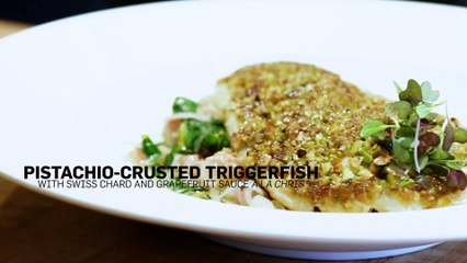 Pistachio-Crusted Triggerfish Video Recipe