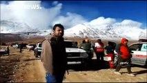 Iran plane crash: Bad weather hampers rescuers