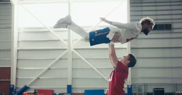 Peyton Manning On Eli's 'Dirty Dancing' Super Bowl Commercial