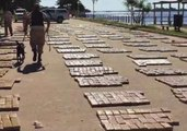 Argentine Navy Seizes 5 Tons of Marijuana in Record Drug Bust