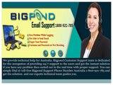 Bigpond Webmail Support Number Australia: 1800-921-785