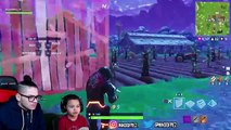 1 KILL = 1 FREE SKIN FOR MY 9 YEAR OLD LITTLE BROTHER! 9 YEAR OLD PLAYS SOLO FORTNITE BATTLE ROYALE!