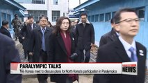Two Koreas discuss details of North's participation in Paralympics
