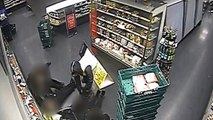 Armed robbers tie up Marks And Spencer staff