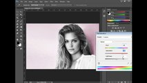 How to Change the black and white  to color by Adobe Photoshop CC  | Adobe Photoshop CC Tutorial
