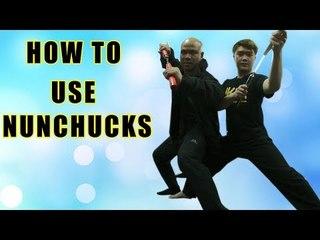 how to use nunchucks like bruce lee