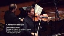 Schumann - Adagio et Allegro en la bémol majeur op. 70  par Adrien La Marca et Jonas Vitaud