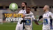 Top Buts Dominos Ligue 2 - Février (saison 2017/2018)