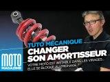 Comment changer son amortisseur moto -Tuto mecanique moto - Motomag