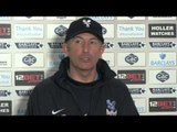 Tony Pulis: Crystal Palace in good shape for Swansea match