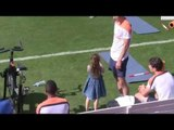 Robin van Persie takes the kids to Holland training