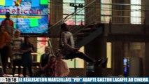 """Le metteur en scène marseillais Pierre-François Martin-Laval, dit """"PEF"""" donne vie au cinéma au héros de bande dessinée Gaston Lagaffe"""