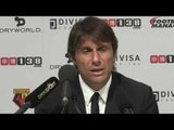 Conte wants Costa to score early goals, not last minute winners!