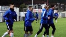 Trabzonspor, Beşiktaş maçı hazırlıklarına başladı - TRABZON