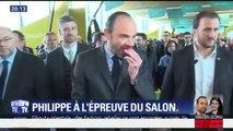 """Au Salon de l'agriculture, Édouard Philippe a """"mangé des pommes"""""""