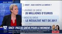 Combien la SNCF perdrait-elle d'argent si elle devait faire face à un mois de grève?
