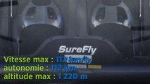 SureFly, un hélicoptère hybride et autonome - vidéo Enedis