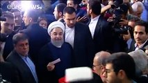 Iran: President Hassan Rouhani wins re-election - Interior Ministry