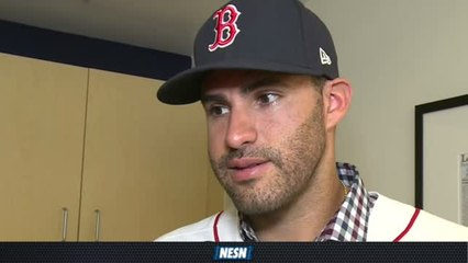 J.D. Martinez On Joining The Red Sox