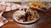These Lemon Blueberry Cheesecake Bars Taste Like Spring