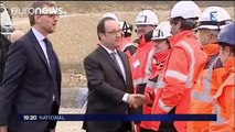 Shots accidently fired near French president