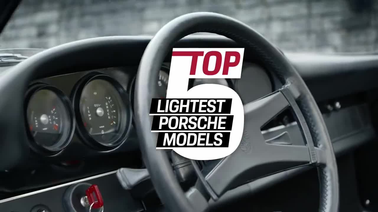 Porsche Top 5 – Lightest Porsche Models