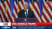 """[LIVE] Mike Pence: """"I'm honoured to stand shoulder-to-shoulder [with Trump]"""""""