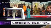 Actress Isabelle Huppert pays tribute to director Paul Verhoeven at the Marrakech Film… - cinema
