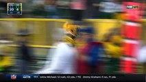 2016 - Dak Prescott misfires, throws first interception of his career