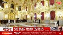LIVE: Vladimir Putin congratulates Donald Trump on his victory