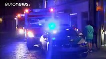 Failed asylum seeker kills himself and injures others in a blast in southern Germany