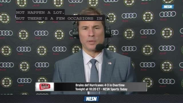 Bruins Overtime Live: Bruce Cassidy Impressed With Bruins Effort In Comeback Win Over Hurricanes