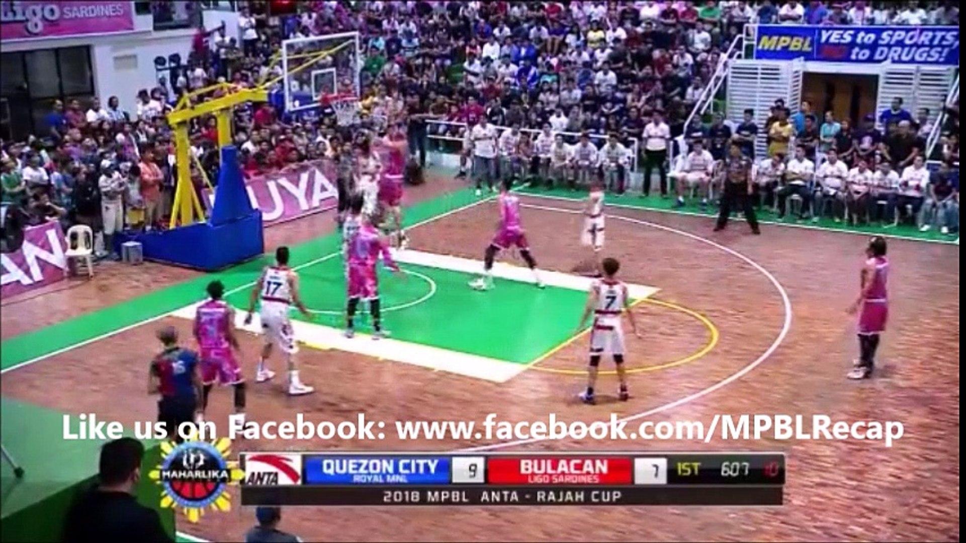 Marlou (A.K.A Sky Scraper Aquino) Score vs Quezon City Capitals (MPBL) February 24, 2018