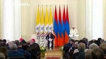 Pope Francis calls Armenia's mass killings a genocide