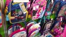 Bad Baby Backpack Shopping Haul Victoria & Annabelle Freak Family Vlogs Sharks & Emojis Toy Freaks