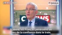 Réforme de la SNCF: pour Guillaume Pepy, une grève serait «un formidable bon en arrière»