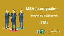 MSA Le magazine- bien etre a utravail