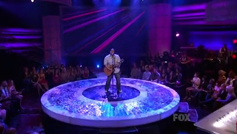 American Idol S09 E14 Top 12 Guys Perform part 2/2