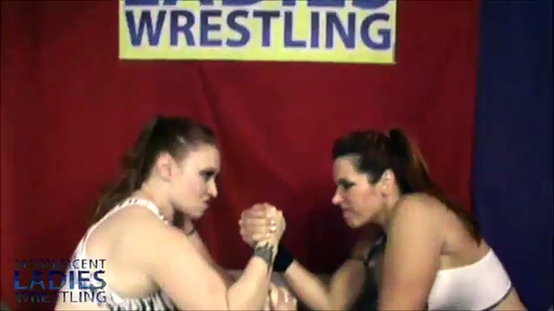 Extreme Women's Arm Wrestling! Strong, Beefy Women!