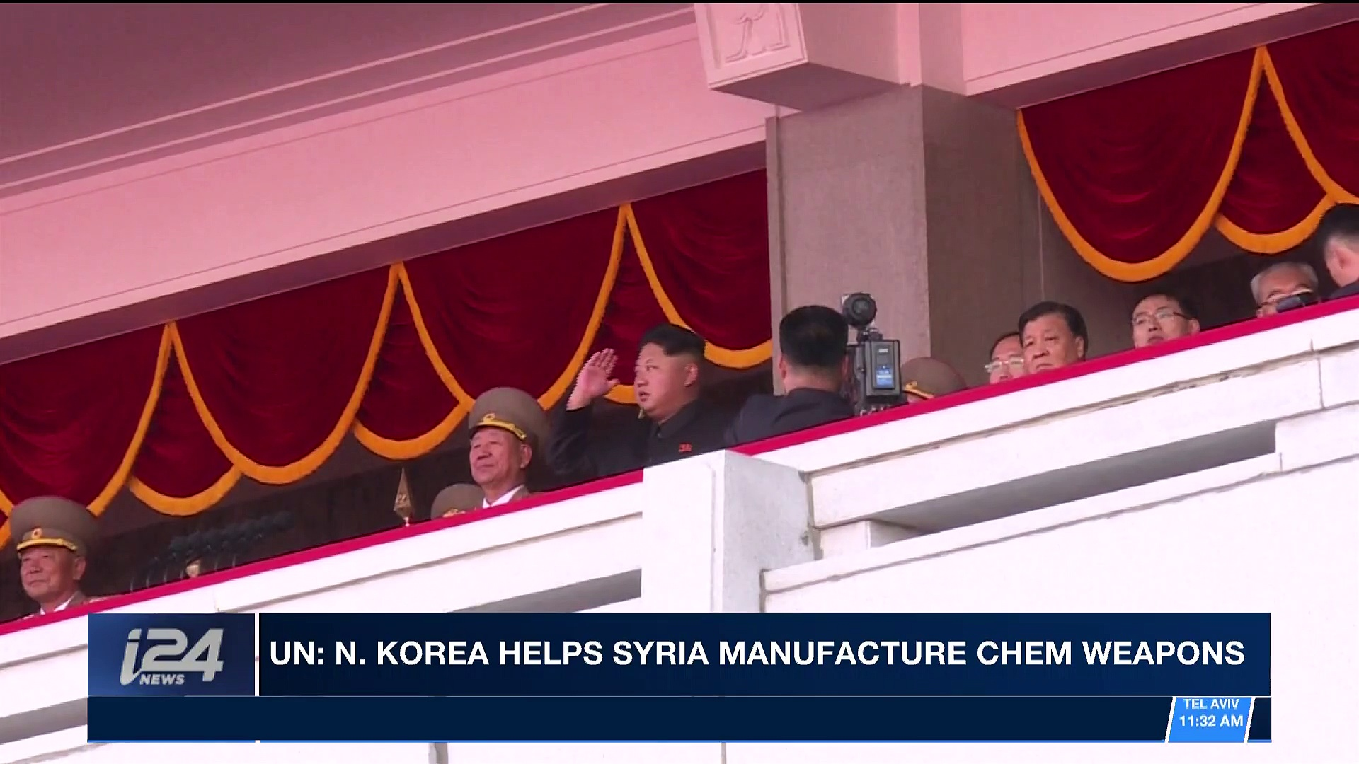 i24NEWS DESK | UN: N. Korea helps Syria manufacture chem weapons | Wednesday, February 28th 2018
