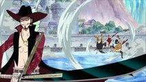 Luffy VS Mihawk 1 2 English Dubbed