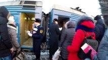 Плацкартный фирменный вагон Минск–Санкт-Петербург в составе поезда № 52/51 Брест–Санкт-Петербург