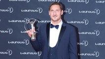 Francesco Totti e Ilary Blasi ai Laureus Sports Awards- cosa è successo durante la premiazione