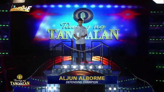 20180228_itsshowtime_TNT Doniver Alcaraz, susubukang agawin ang titulo bilang defending champion ng Tawag Ng Tanghalan kay Aljun Alborme