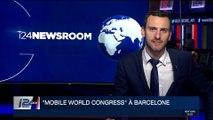 """Le salon """"Mobile World Congress"""" ouvre ses portes à Barcelone"""