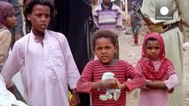 Life for the displaced in Yemen - an exclusive euronews report from the Darwan camp near Sanaa
