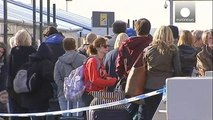 Long queues form at Brussels Airport