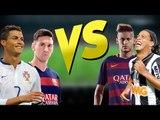 Batalha de Dribles - Neymar Jr - Messi - Ronaldinho Gaúcho - Cristiano Ronaldo ● Freestyle ● 2016