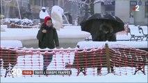 Froid : toute l'Europe figée dans la glace